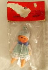 Vintage Rubber Doll Jointed East Germany VEB Puppenfabrik NEW UNOPENED 3""