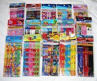 180 pcs Disney Cartoon Characters Licensed Pencil School Party Bag Filler Supply
