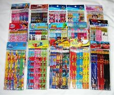 180 pcs Disney & Cartoon Character Licensed Pencil Wholesale School Supply Gifts