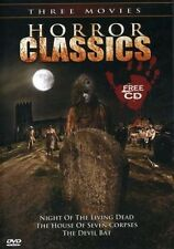 Horror Classics: Night of Living Dead/The House of Seven Corpses/The Devil Bat