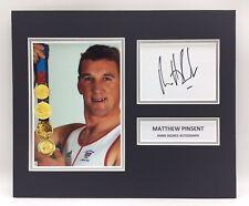 RARE Matthew Pinsent Olympics Signed Photo Display + COA AUTOGRAPH ROWING
