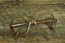 70er Original Vintage señora gafas! nuevo! 52 glasses 16 130 marrón modelo 65