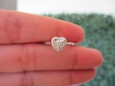 1.50 Carat Face Diamond Illusion Engagement Ring 18k White Gold ER413 sep