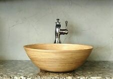 Ariellina Limited Handmade Spun Bamboo Bath Vessel Sink Lifetime Warranty AC7657