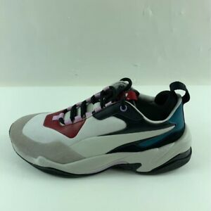 Puma Womens Thunder Rive Droite Sneakers Shoes Gray 369452 02 Low Top 9.5 New