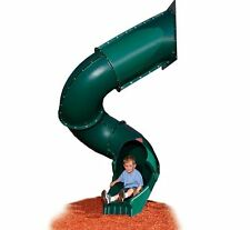Replacement Playground Slide Equipment Plastic Green 7 Ft Deck NEW
