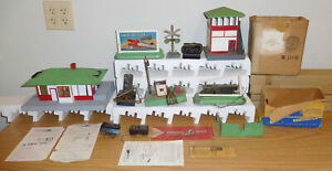 AMERICAN FLYER S GAUGE ACCESSORIES LOT STATION SWITCH TOWER SAM SEMAPHORE SIGNAL