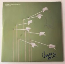 Isaac Brock & Tom Peloso Modest Mouse Signed  Vinyl LP JSA COA # R00499 Auto