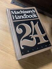 MACHINIST 24th EDITION MACHINERY'S HARDBACK HANDBOOK