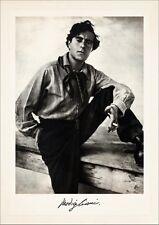 PHOTOGRAPHIE Amedeo Modigliani PORTRÄT um 1910 ORIG. VERSCHOLLEN FAKSIMILE 16