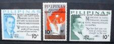 PHILIPPINES 1972 Scout Conference Surcharge. Set of 3 Mint Never Hinged SG1269/1