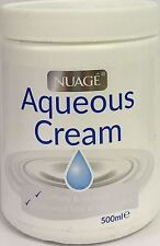 THREE PACKS of Nuage Aqueous Cream 500ml