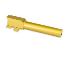 KMT Barrel for Glock 26 9mm G26 Titanium Nitride Gen 1-4 Polymer 80 PF940SC P80