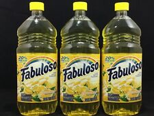 FABULOSO REFRESHING LEMON MULTI-PURPOSE CLEANER 33.8 FL Oz Each (pack Of 3)