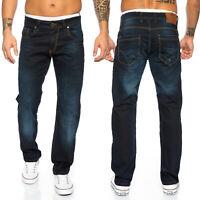 Rock Creek Designer Jeans Herrenjeans Hose Dunkelblau Stretch Jeans LL-316 NEU