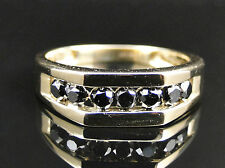 Coating Cocktail Yellow Gold 10k Fine Diamond Rings