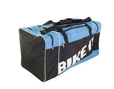Luggage Motorcycle Motorbike Motocross MX Kit Bag Black / Blue 90l