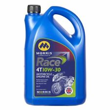 Morris Lubricants Race 4T 10W-30 4Litres Motorcycle Engine Oil