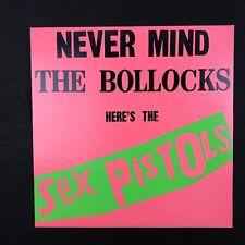 "SEX PISTOLS ~ Never Mind the Bollocks ~ BSK 3147 ~ VINYL LP 12"" Record Album"