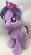 "Build a Bear My Little Pony 18"" Purple Twilight Sparkle Plush Unicorn MLP BAB"