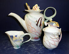 NIB Franz By the Sea Teapot, Sugar & Creamer- FZ01139, FZ01140 & FZ01141