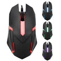 MS11 1600DPI Wired Backlight USB Mouse Ergonomic Gaming Notebook Office Mice TOG