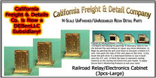 Railroad Relay/Electronics Cabinets-Lg N/Nn3/1:160-CAL Freight & Details *NEW*