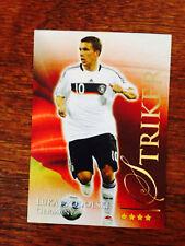 2010 Futera World Football Soccer Card - Germany PODOLSKI MINT