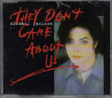 Michael Jackson-They Dont Care About Us cd maxi single
