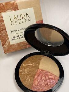 Laura Geller Supersize Body Frosting, Blush & Highlighter Palette 24g