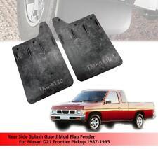 Rear Splash Guard Mud Flap Fender For Nissan D21 Frontier Pickup 1987 - 1995