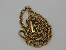 Victorian/vintage Gold Filled Pocket Watch Chain Scrap/Use 16.6g H34