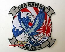 VMAQ-4 SEAHAWKS ELECTRONIC WARFARE SQUADRON PATCH US MARINES VETERAN PIN UP WOW