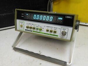 Leader LDC-822A, zuverlässiger Frequenzzähler