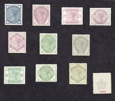 Queen Victoria 1883 Set of 10 (forgeries)