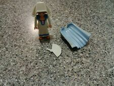playmobil #3837 medevil figure with fan and cape