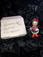 """Disney Daisy Duck Ornament Figurine Grolier Christmas Magic 3.5"""" See Pictures ♾"""