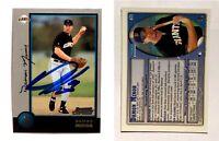 Damon Minor Signed 1998 Bowman #411 Card San Francisco Giants Auto Autograph