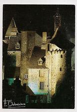 salers , cité médiévale , la tour de l'horloge