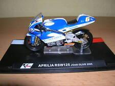 Ixo Altaya aprilia rsw125/RSW 125 joan olive 2005, #6 1:24