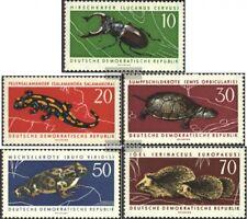 DDR 978-982 (kompl.Ausgabe) postfrisch 1963 Geschützte Tiere