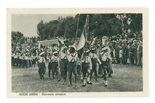 ADDIS ABEBA GIOVENTU' ETIOPICA ETIOPIA AFRICA ORIENTALE COLONIE D'ITALIA ANNI 30
