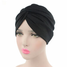 Turban Band Hat Cap Hijab Headwear Hair Loss Chemo Headwrap Bandana Headscarf