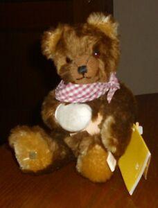 Sigikid Teddy-braun-28cm-Zertifikat-Art.:33349-unbespielt-limitiert-Note 1-2-Ids