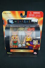 DC Direct MiniMates - Hawkman & Hawkgirl Mini Figure 2pk - Wave 5 (001)