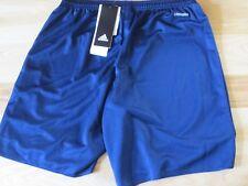 NWT Adidas Climalite Parma 16 SHO Y Soccer Shorts Navy & White - YXL Youth XL