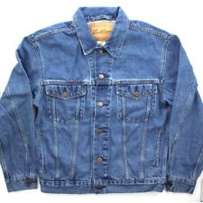 Levi's Trucker Jean Jacket Men's Levi Signature Denim Button Down, 4 Pockets