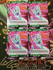 Surprise Attack Frieza 4x P-090 PR  Dragon Ball Super PLAYSET
