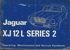 JAGUAR XJ 12 L Series 2 1973 owner's Manual Handbook MANUALE DI ISTRUZIONI BA