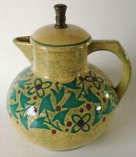 Art Deco WACHTERSBACH Earthenware TEAPOT 7091 Germany 1929-30 hp Pottery